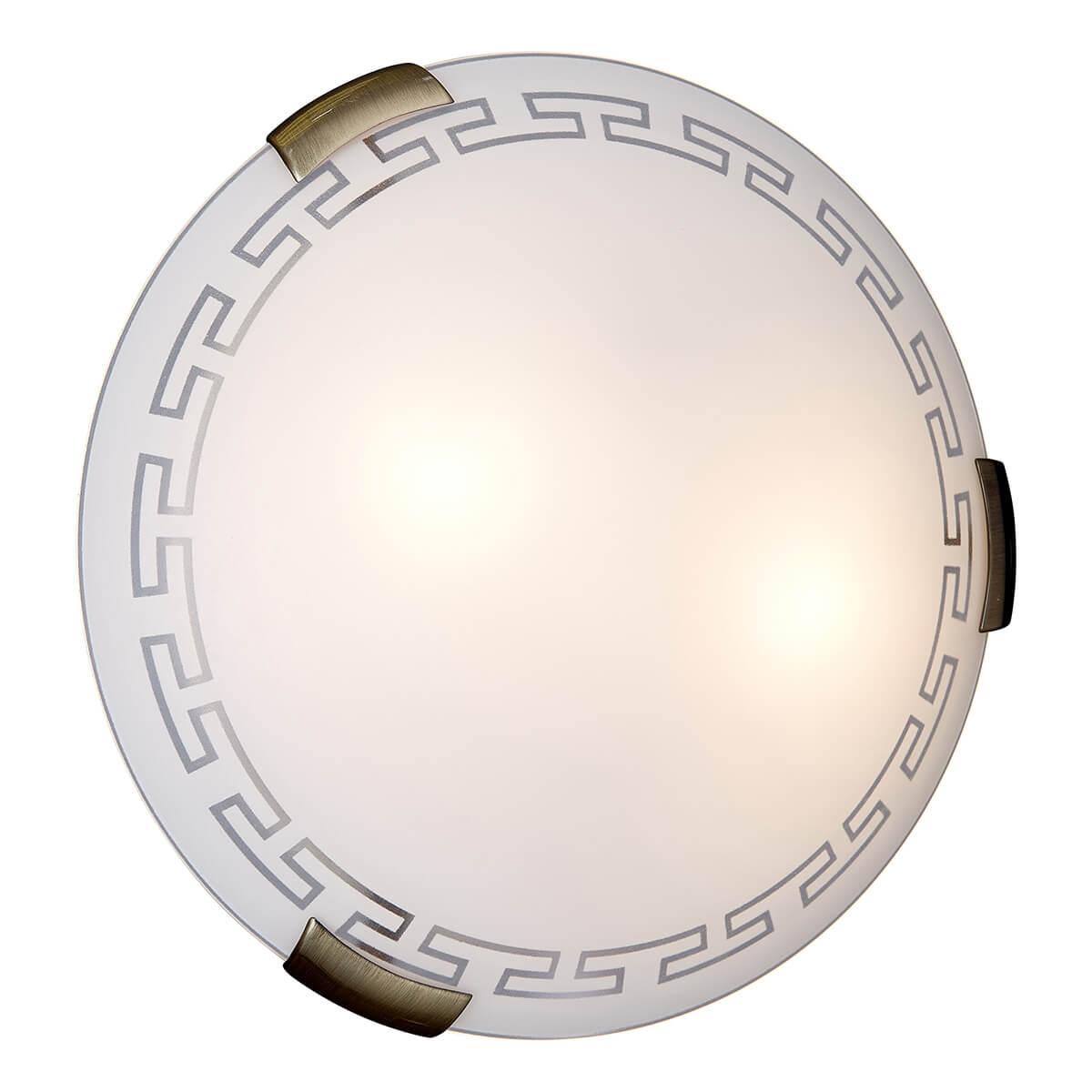Светильник Sonex 261 потолочный светильник sonex накладной потолочный 1219 a