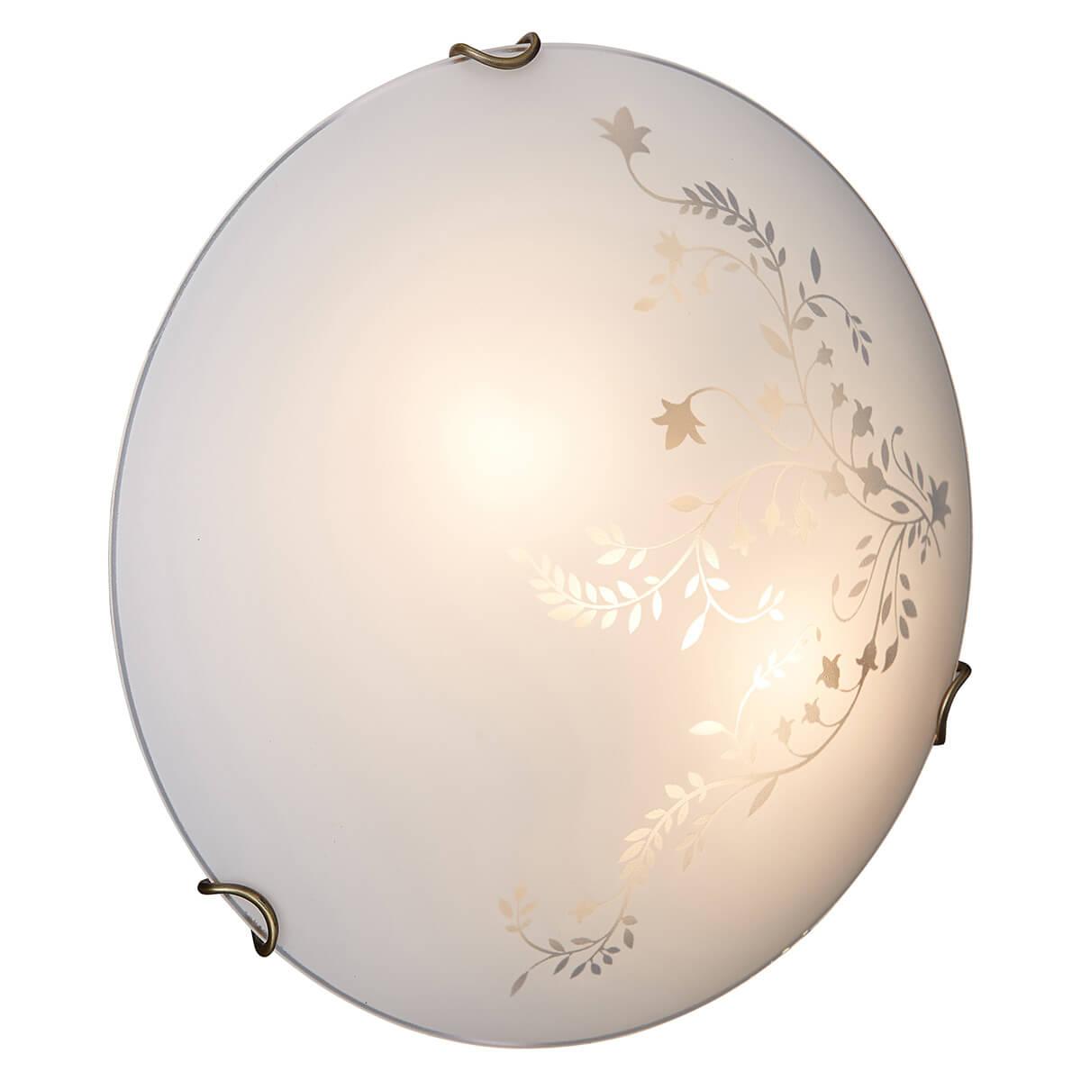 Светильник Sonex 118/K потолочный светильник sonex накладной потолочный 1219 a
