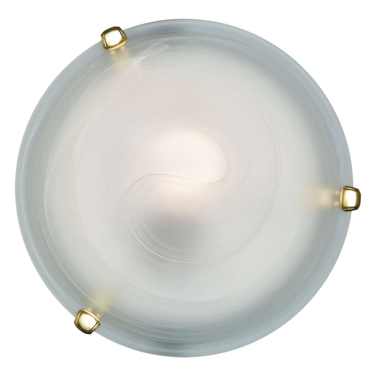Настенно-потолочный светильник Sonex Duna 153/K золото потолочный светильник sonex duna 353 хром