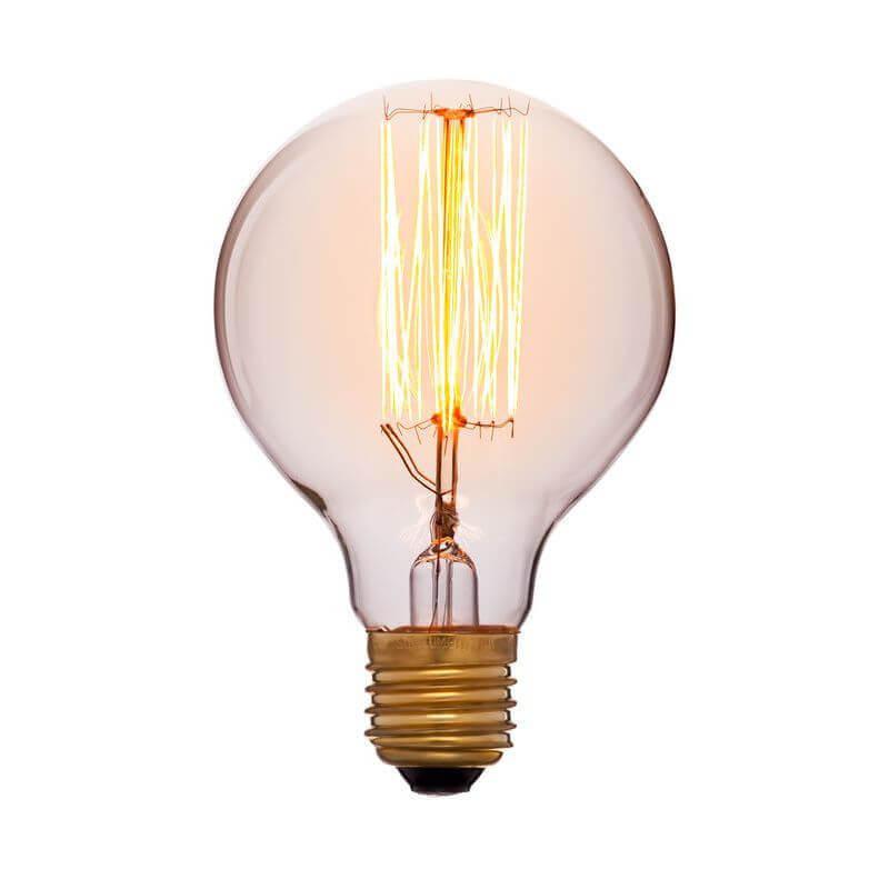 цена на Лампа накаливания E27 40W золотой 051-972а