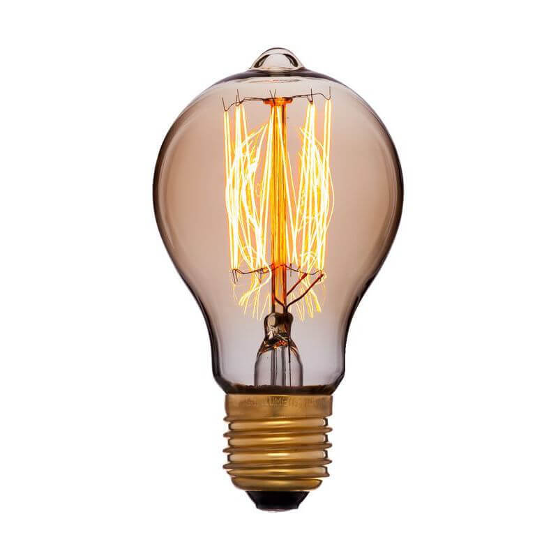 цена на Лампа накаливания E27 40W золотая 051-873
