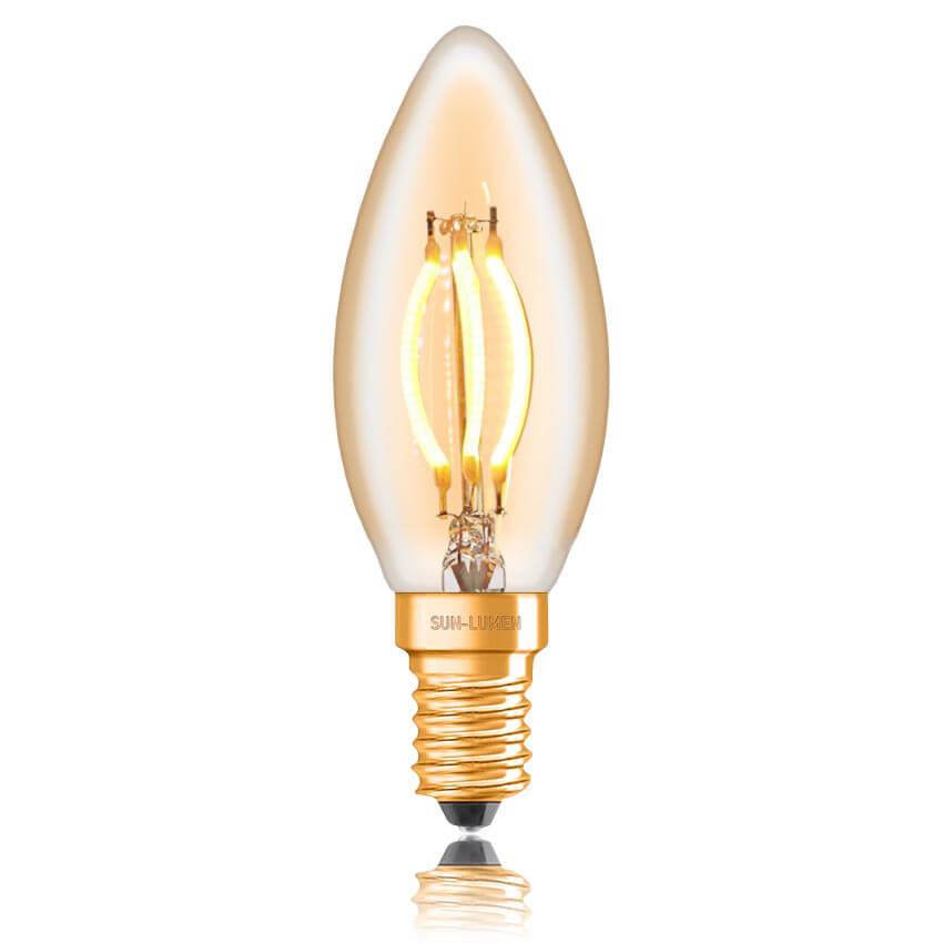 Лампочка Sun Lumen 057-097 C35 (Диммирование) paulmann 95097