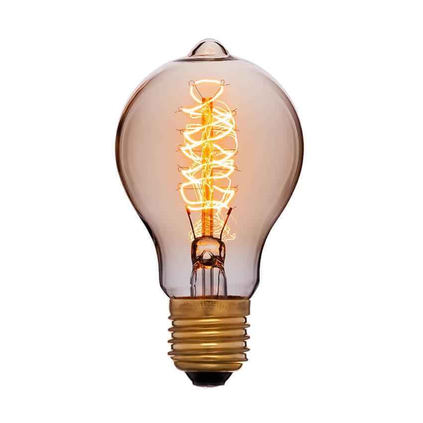 купить Лампа накаливания E27 60W золотая 053-617 по цене 305 рублей