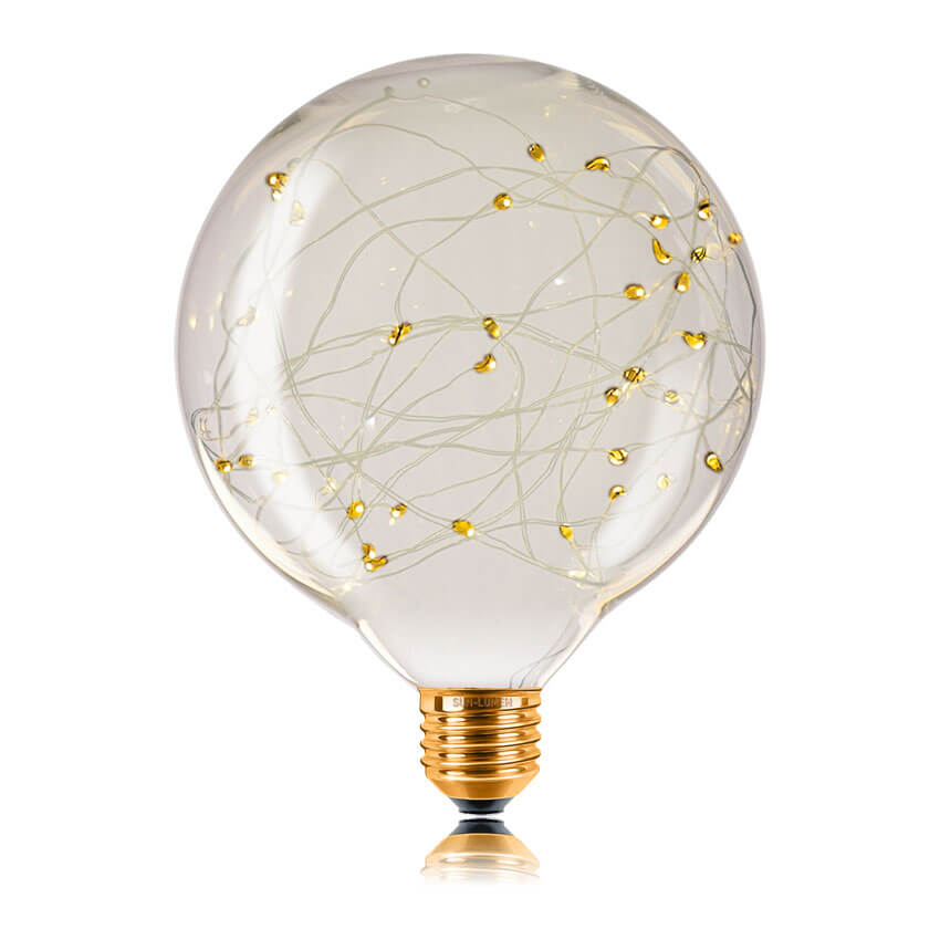 Лампа светодиодная филаментная E27 2W 2700K прозрачная 057165 цена