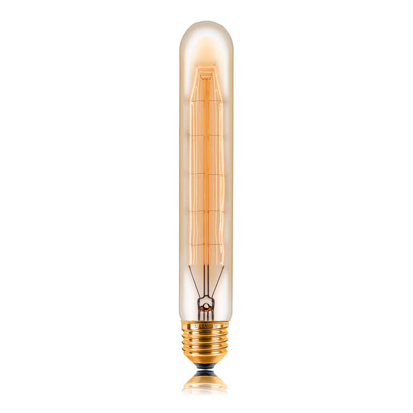 купить Лампа накаливания E27 40W золотая 053-747 по цене 305 рублей