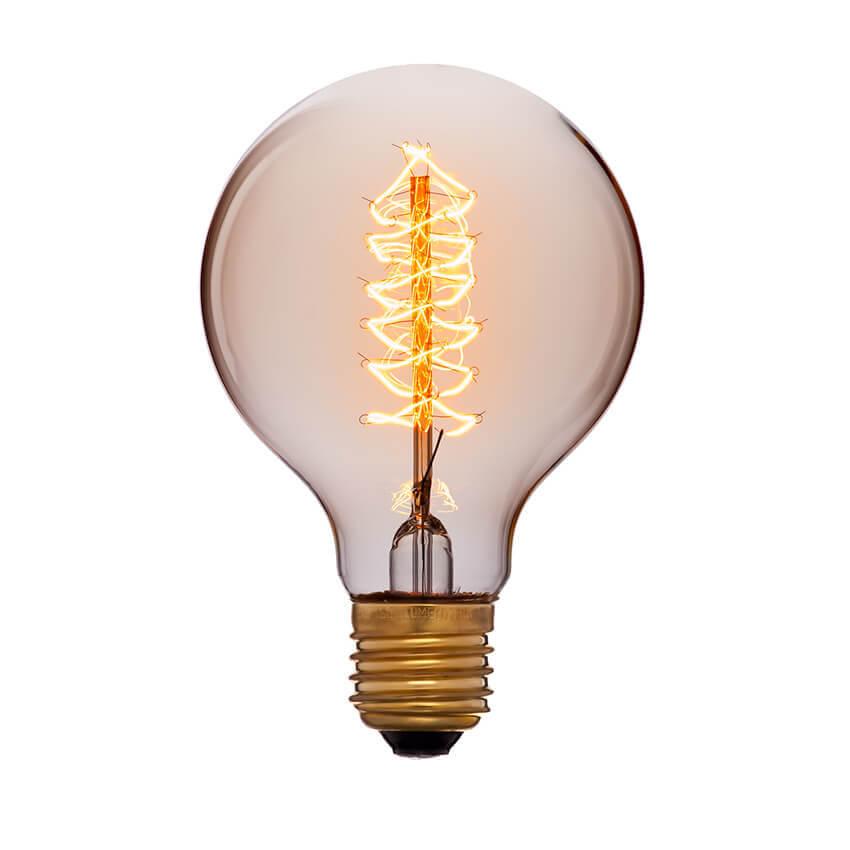 купить Лампа накаливания E27 60W золотой 053-525 по цене 356 рублей