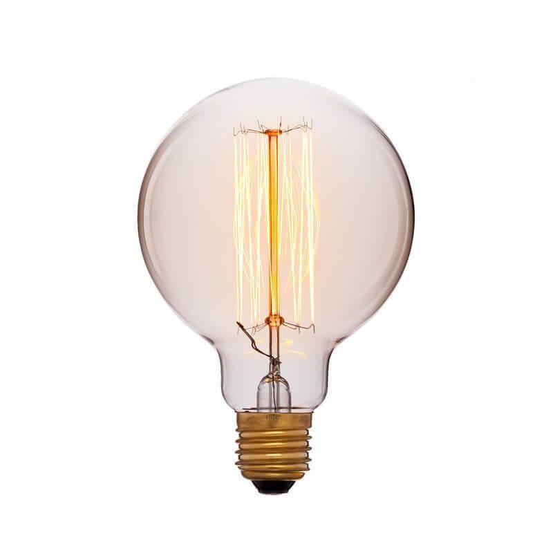 цена на Лампа накаливания E27 40W золотая 051-996