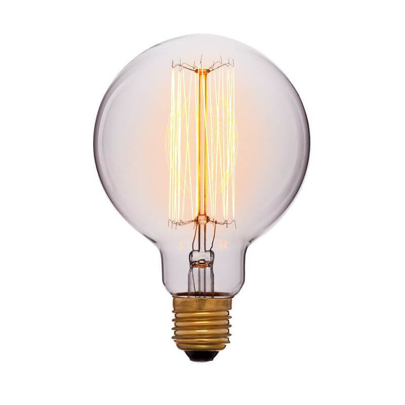 купить Лампа накаливания E27 60W прозрачная 052-290 по цене 305 рублей