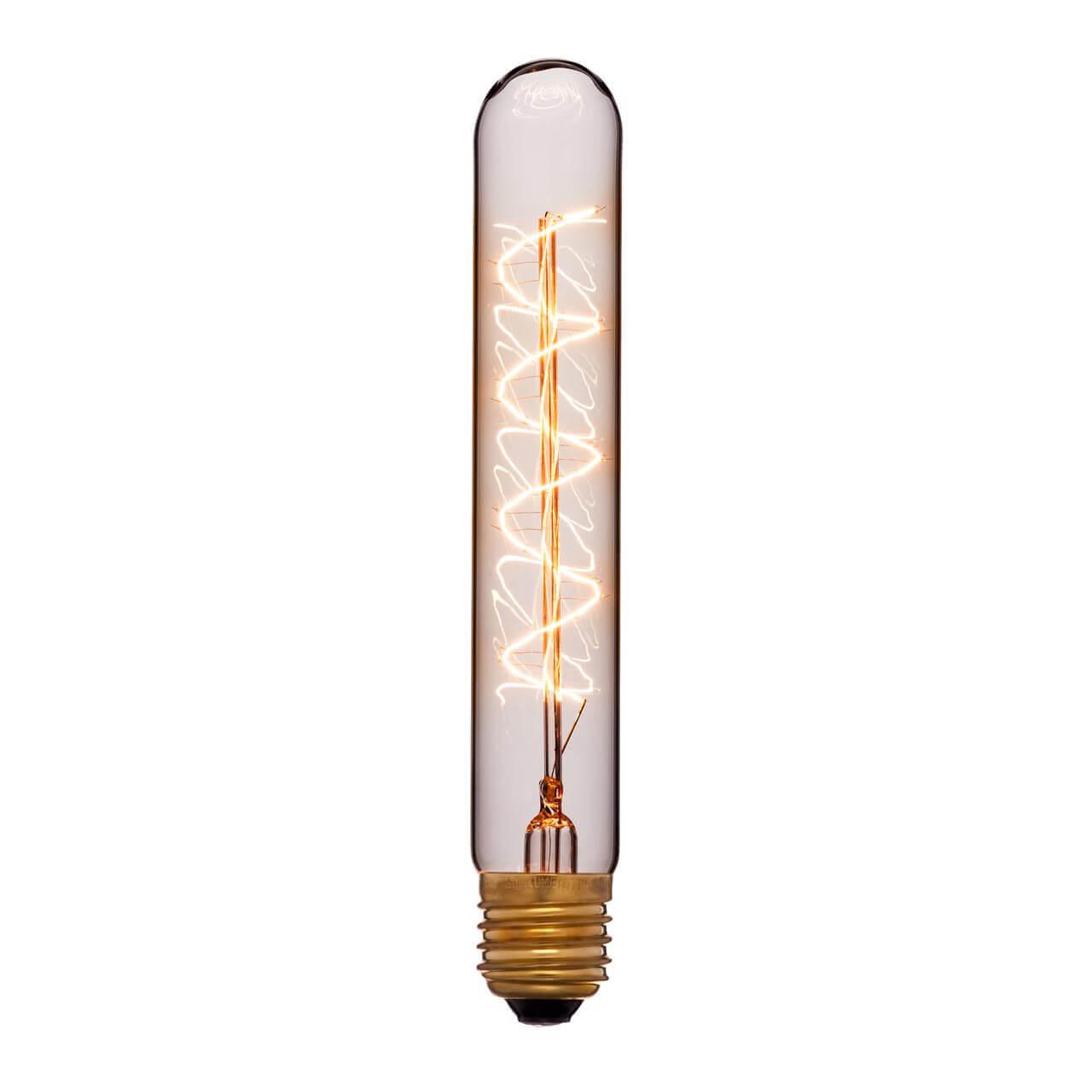 купить Лампа накаливания E27 60W прозрачная 053-877 по цене 305 рублей