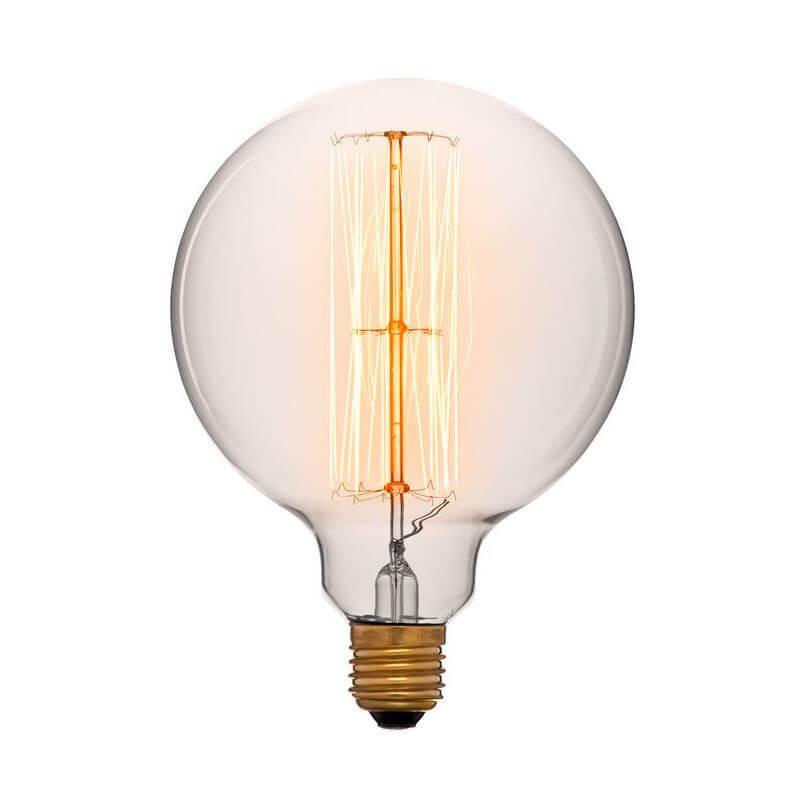 купить Лампа накаливания E27 60W прозрачная 054-027 по цене 509 рублей