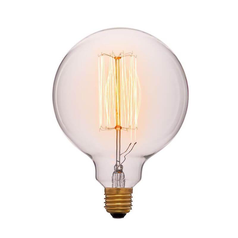 купить Лампа накаливания E27 60W прозрачная 052-313a по цене 407 рублей