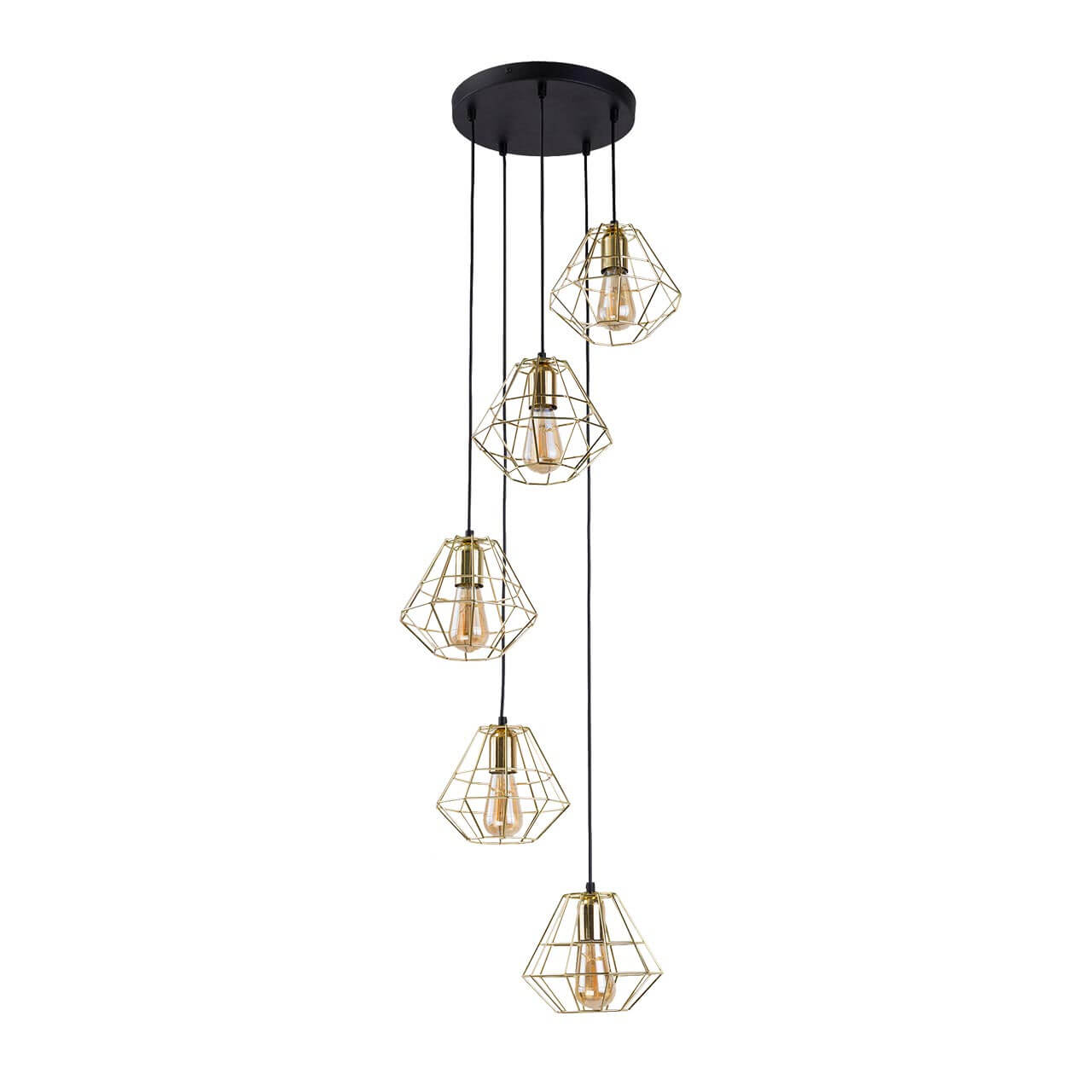 Светильник TK Lighting 2576 Diamond Gold