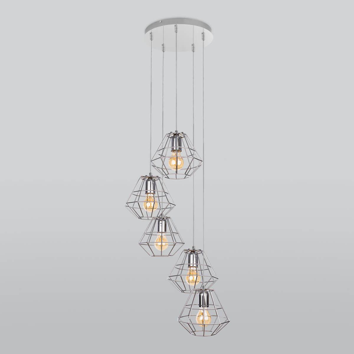 Светильник TK Lighting 4289 Diamond Silver