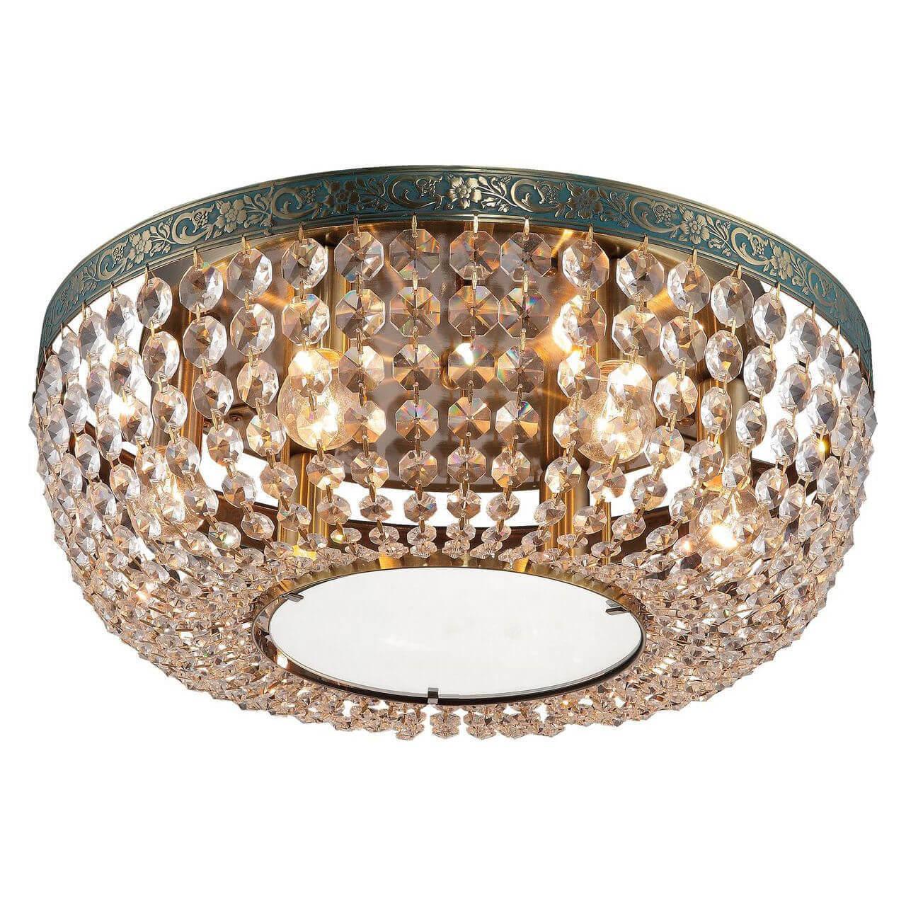 Светильник Toplight TL7240X-06AB Virginia Brass потолочная люстра toplight virginia tl7240x 06ab