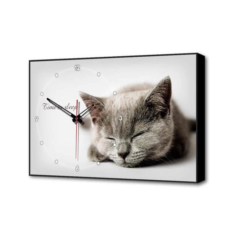 Настенные часы Серая кошка Timebox Toplight 37х60х4см TL-C5022 все цены