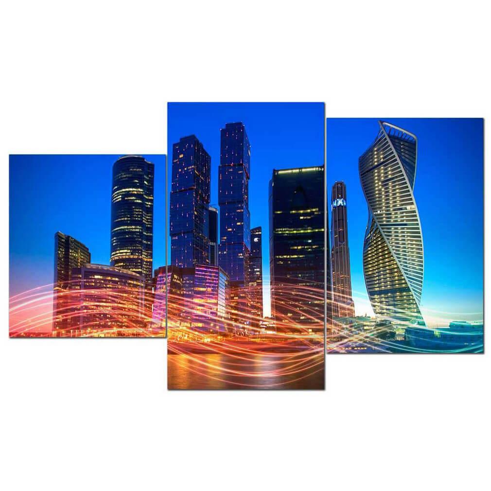 Модульная картина Toplight TL-MM1049 мини модульная картина toplight город 50х78см tl mm1057