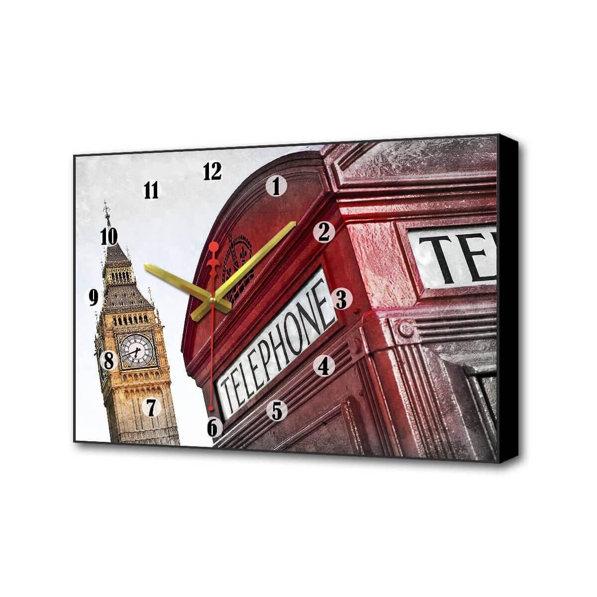 Настенные часы Красная будка II Timebox Toplight 37х60х4см TL-C5010 все цены