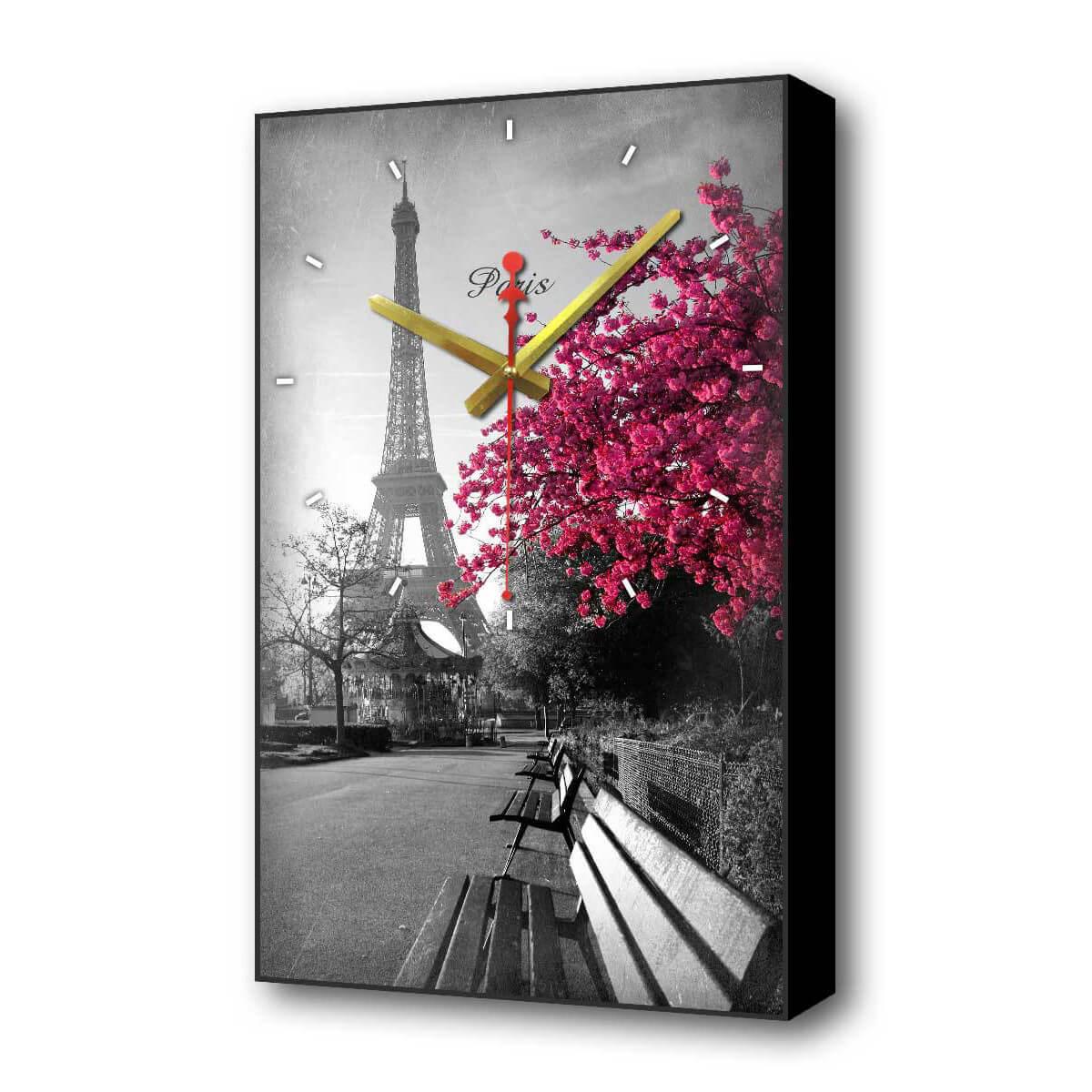 Настенные часы Осенний Париж Timebox Toplight 60х37х4см TL-C5015 все цены