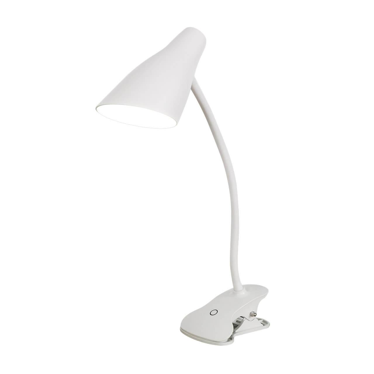 Настольная лампа Uniel TLD-563 White/LED/360Lm/4500K/Dimmer TLD-562 (Сенсорное управление) настольная лампа uniel tld 524 black led 500lm 4500k dimmer tld 524 сенсорное управление
