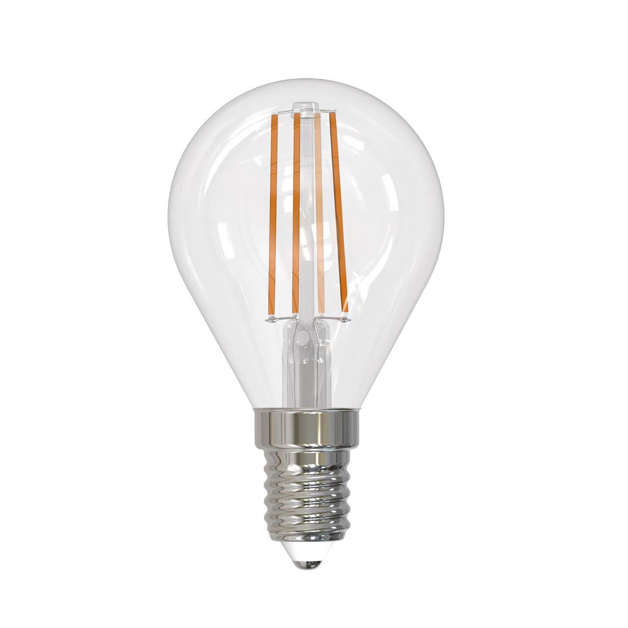 Лампочка Uniel LED-G45-9W/4000K/E14/CL/DIM GLA01TR LED-G45 фото