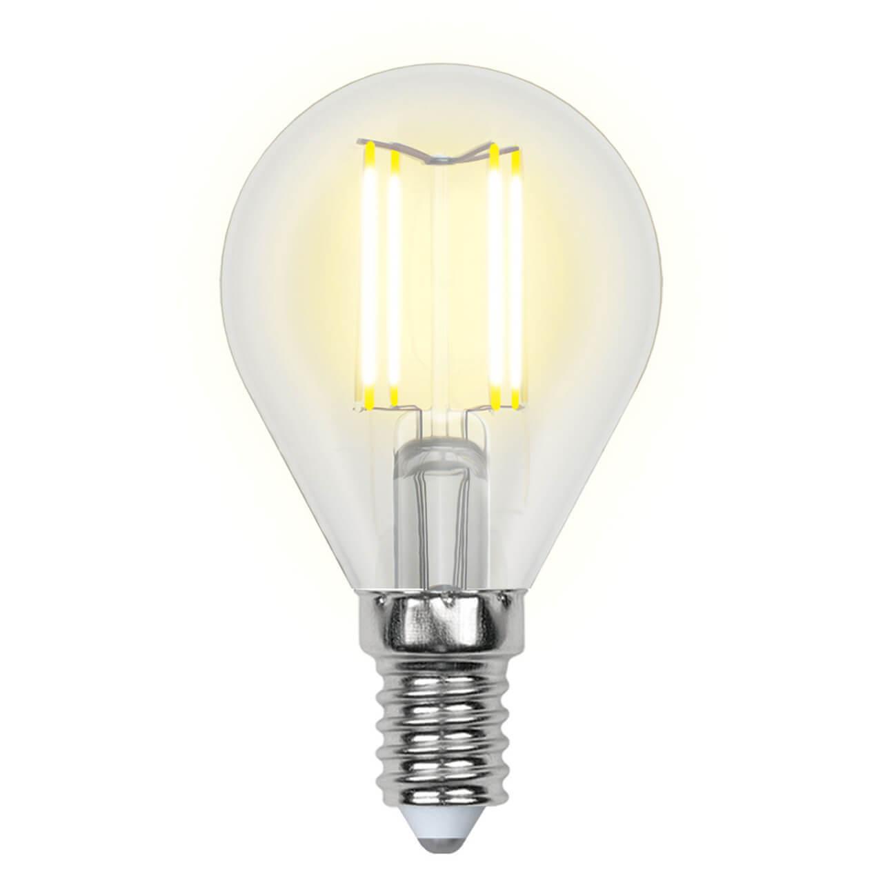 цена на Лампочка Uniel LED-G45-6W/NW/E14/CL GLA01TR AIR G