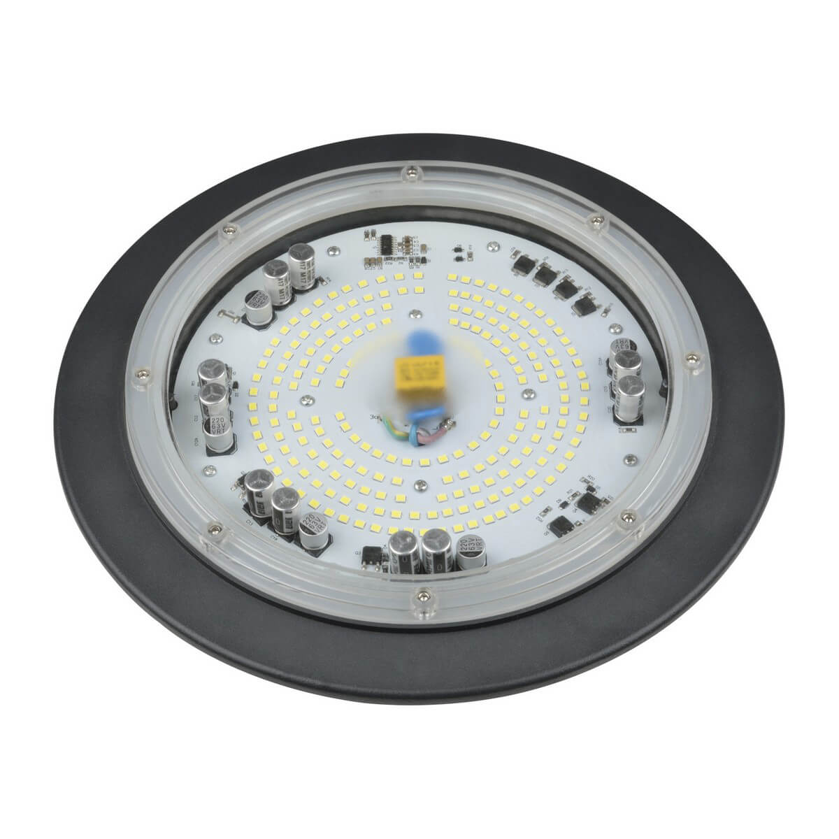 Подвесной светодиодный светильник (UL-00003772) Uniel ULY-U41C-100W/DW IP65 Grey подвесной светодиодный светильник ul 00002057 uniel uly u30b 100w dw ip65 silver