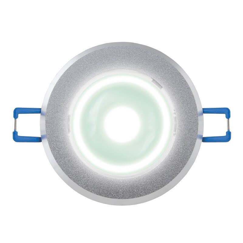Светодиодный встраиваемый светильник (07621) Uniel 4500K ULM-R31-5W/NW IP20 Sand Silver цены