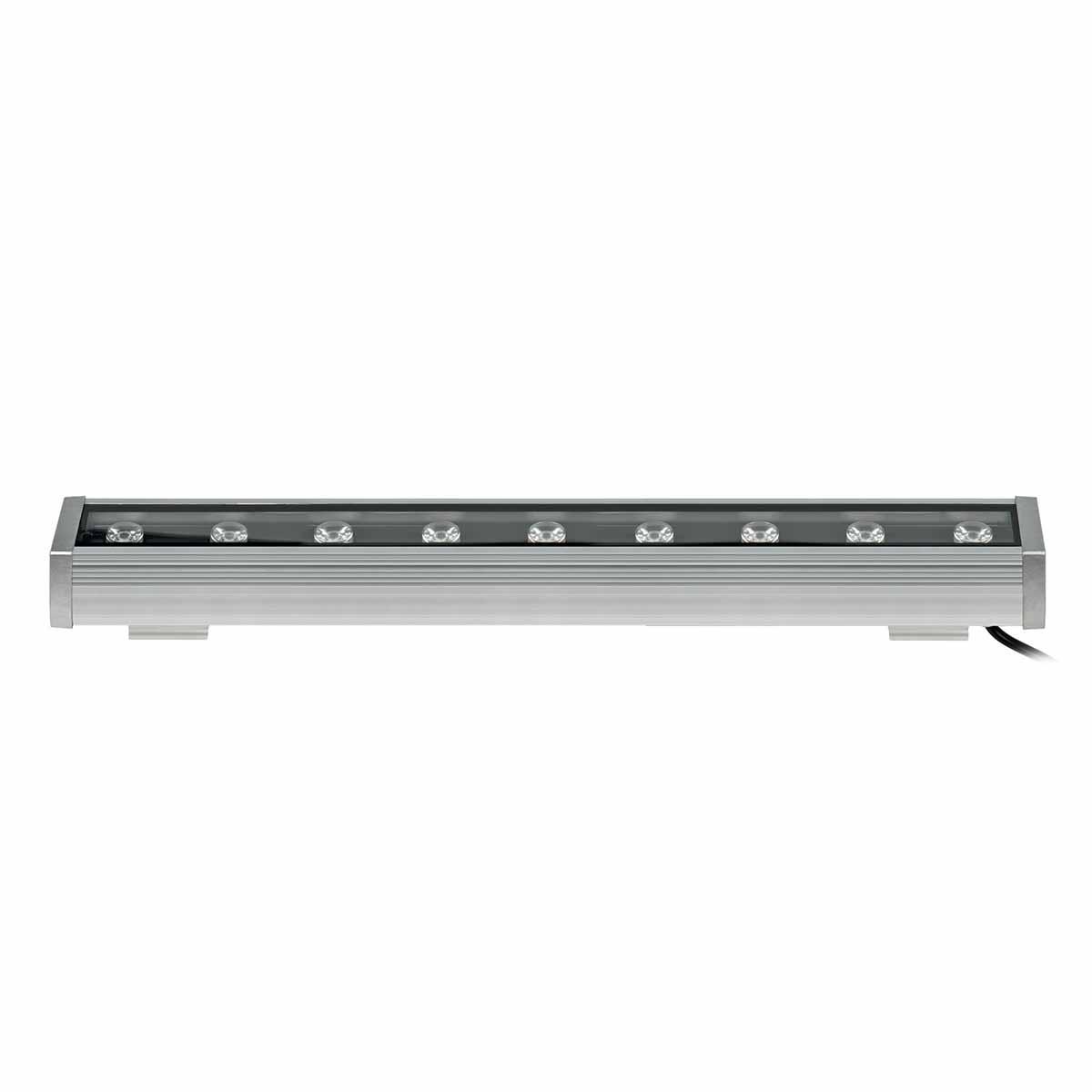 Прожектор Uniel ULF-L52-9W/RGB/L50 DC24V IP65 Silver ULF-L52