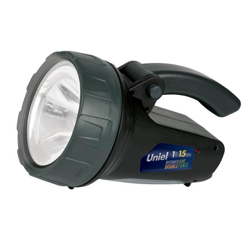 Фонарь-прожектор светодиодный (06649) Uniel аккумуляторный 90 лм S-SL017-BA Black