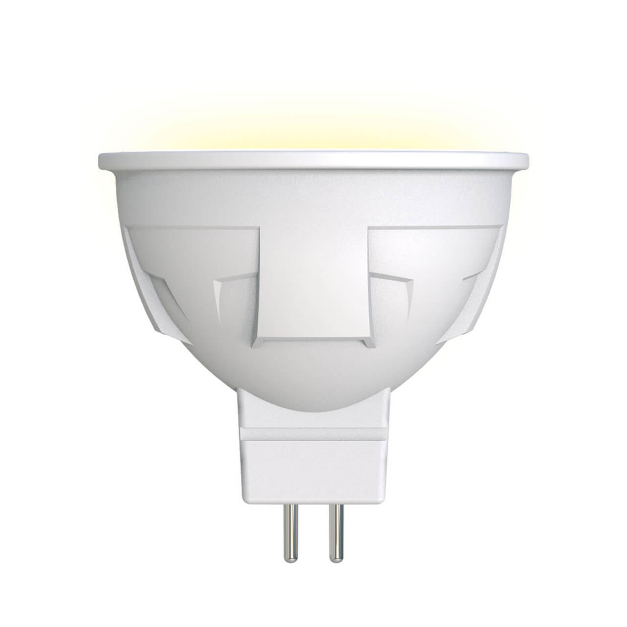 Лампа светодиодная (UL-00002424) Uniel GU5.3 6W 3000K матовая LED-JCDR 6W/WW/GU5.3/FR PLP01WH