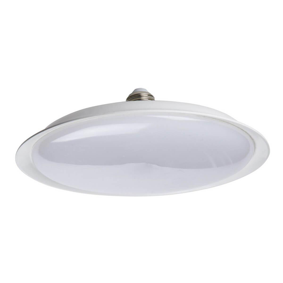 лампочка ecola classic led premium 20w a65 220 240v e27 6500k d7rd20elc Лампочка Uniel LED-U165-20W/6500K/E27/FR PLU01WH UFO