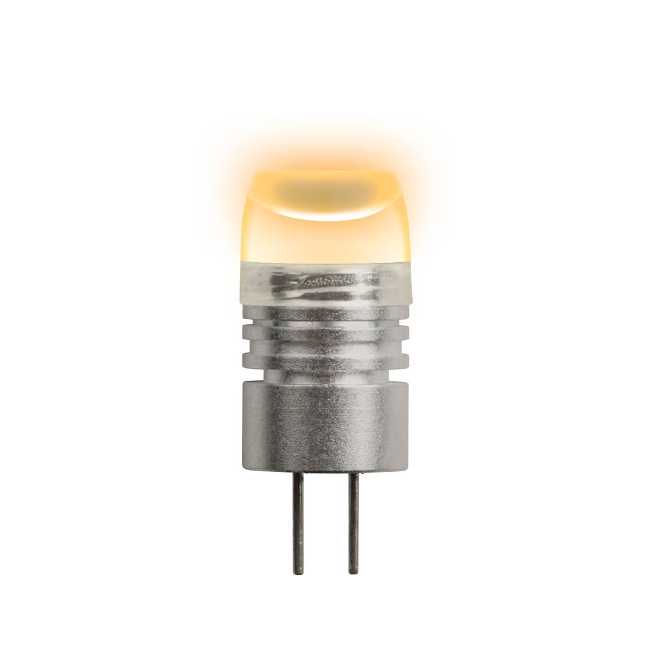 Лампа светодиодная (05857) G4 0,8W прозрачная LED-JC-12/0,8W/YELLOW/G4 uniel лампа галогенная uniel капсула прозрачная g4 35w jc 220 35 g4 cl 02585