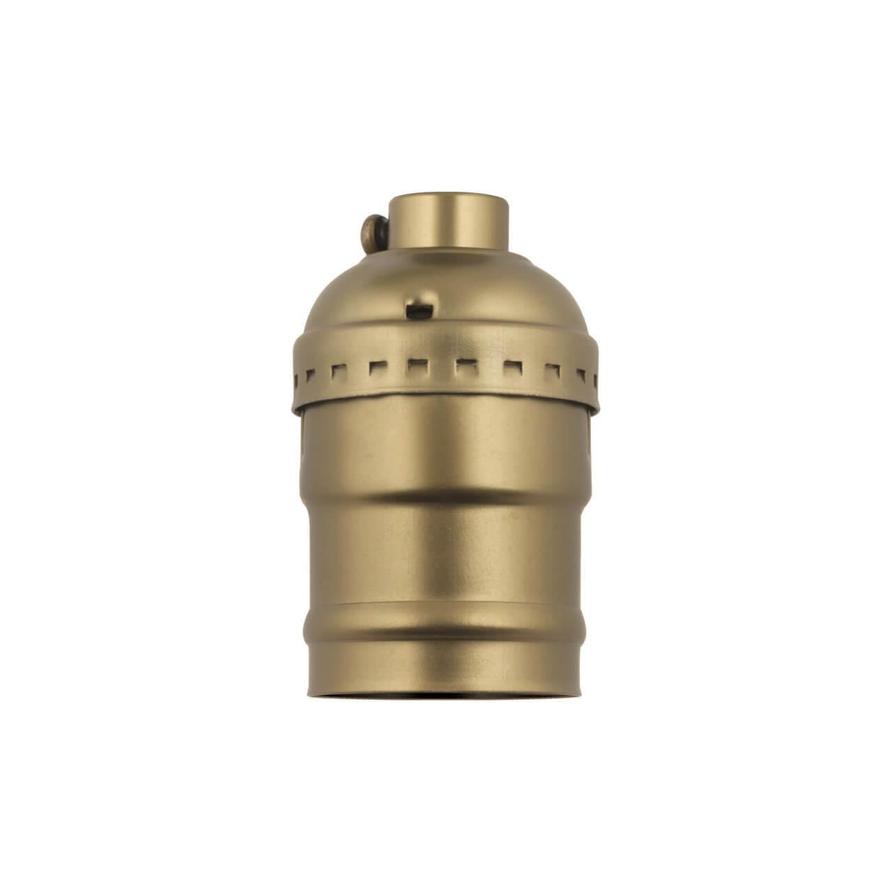 Патрон (UL-00000531) Uniel DLC-V-H01/E27 BRONZE патрон uniel ulh e27p ceramic