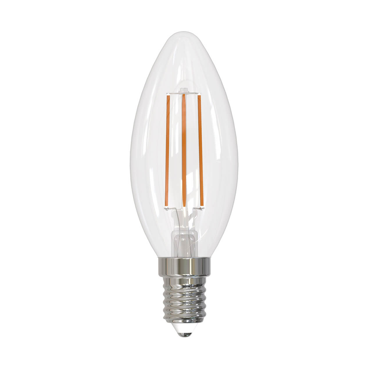 Лампочка Uniel LED-C35-9W/3000K/E14/CL PLS02WH LED-C35