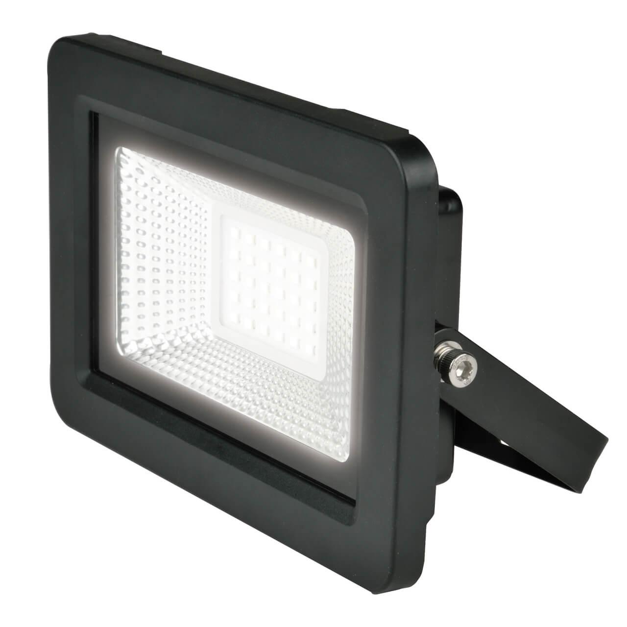 Прожектор Uniel ULF-F19-30W/4000K IP65 175-250В Black ULF-F19 трековый светодиодный светильник donolux dl18931 30w b 4000k