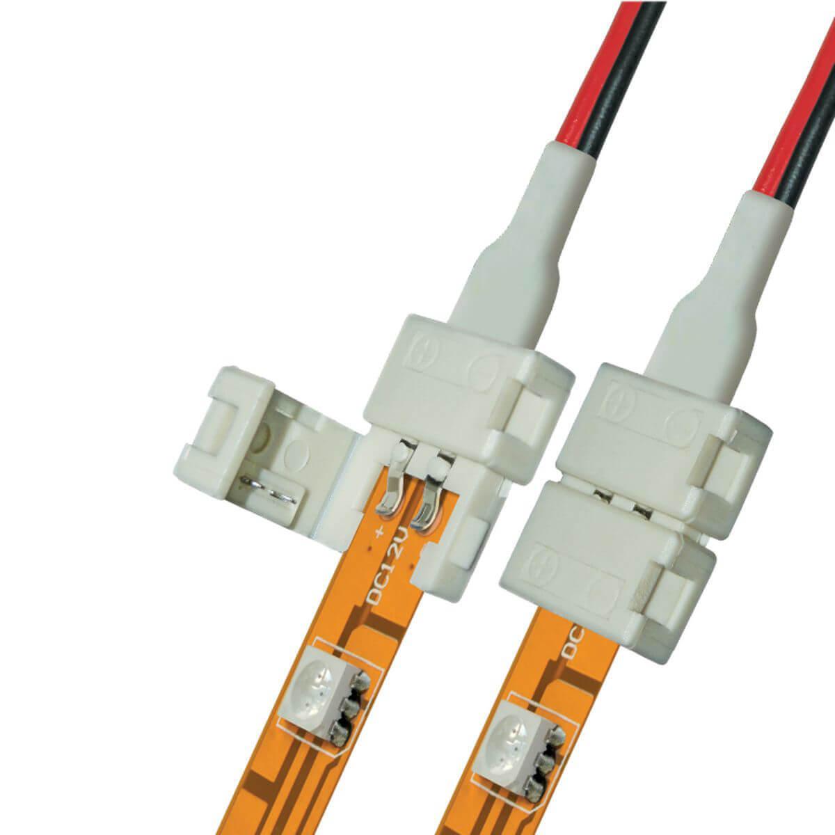 Коннектор для светодиодных лент (06609) Uniel UCX-SD2/B20-NNN White 020 цена и фото