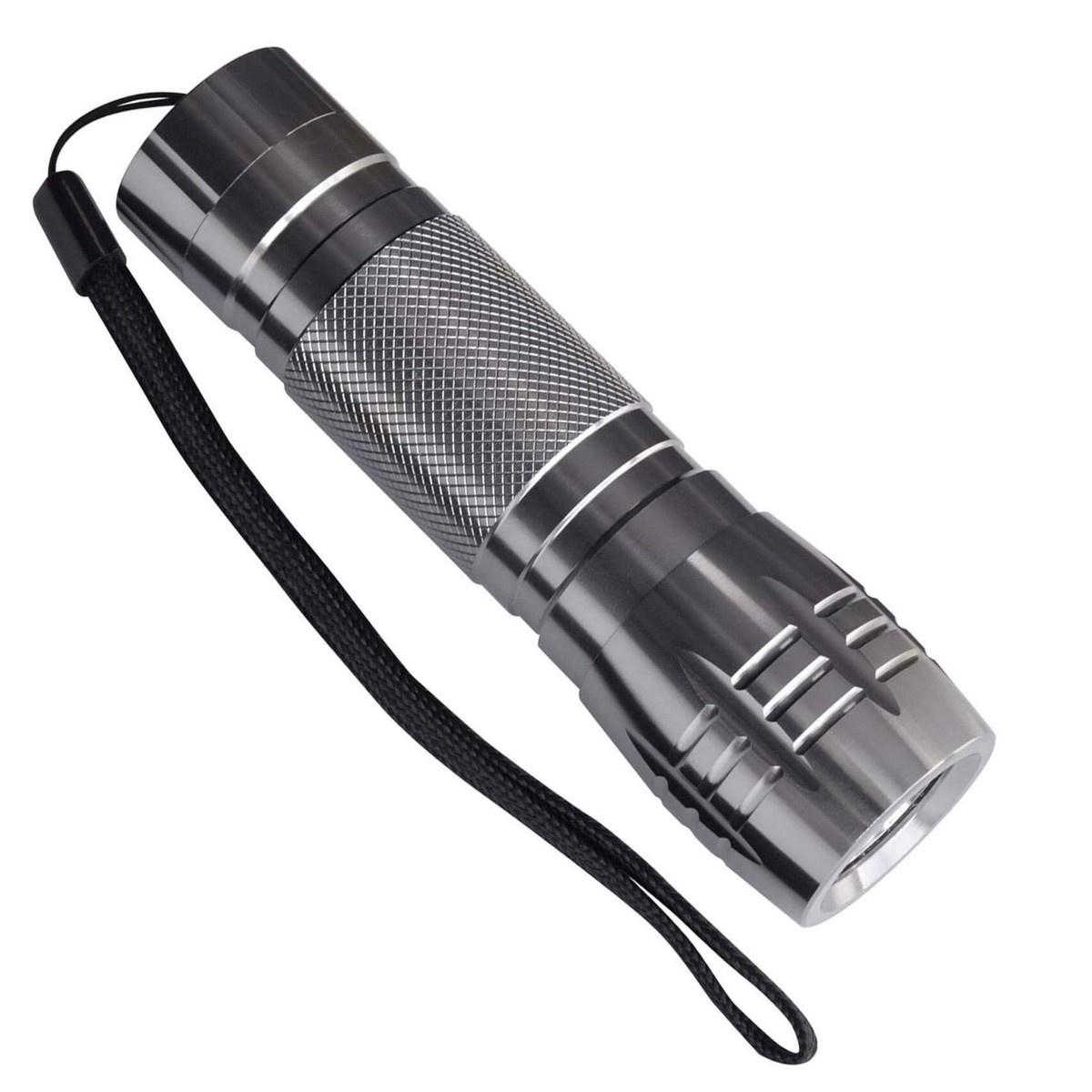 Ручной светодиодный фонарь (03243) Uniel от батареек 60 лм S-LD012-C Silver uniel standart 07437