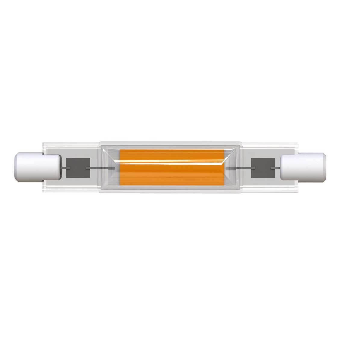 Лампочка Uniel LED-J78-7W/3000K/R7s/CL GLZ07TR LED-J78