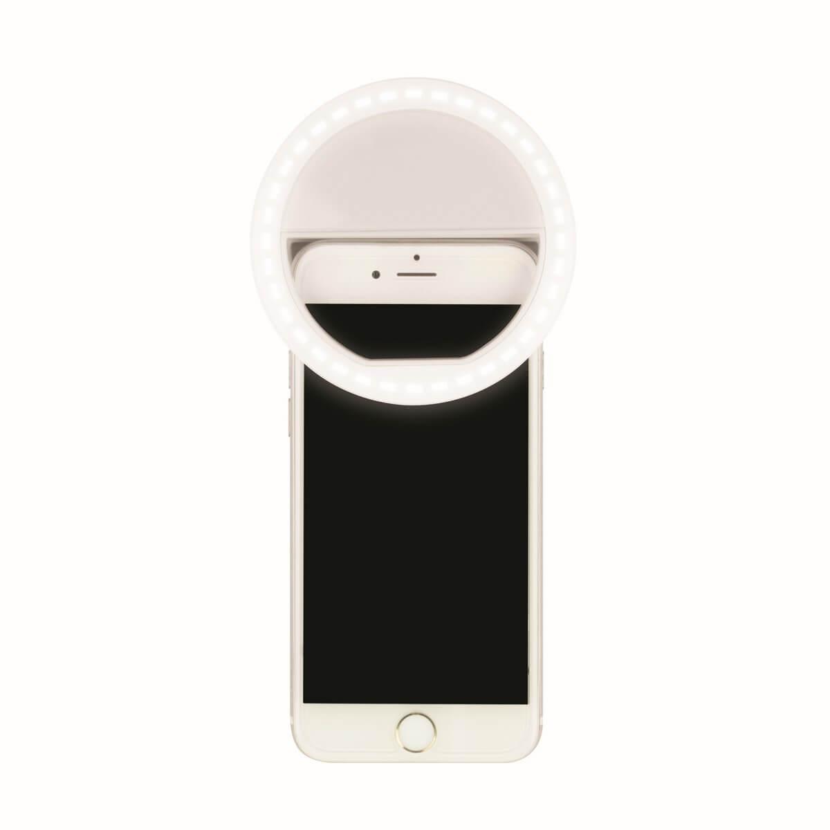 Светодиодный фонарь для селфи (UL-00002623) Uniel от батареек S-Hl100-B White uniel standart 07437