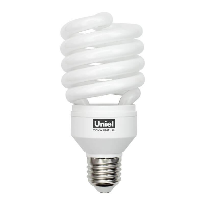 Лампа энергосберегающая (01226) Uniel E27 32W 2700K матовая ESL-H32-32/2700/E27 цена 2017