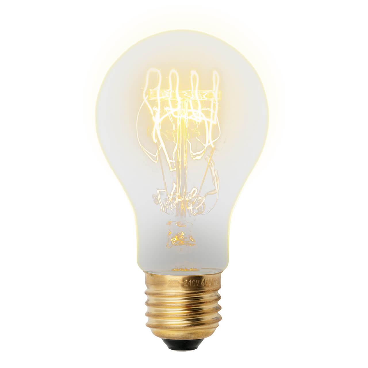 Лампочка Uniel IL-V-A60-60/GOLDEN/E27 SW01 Vintage