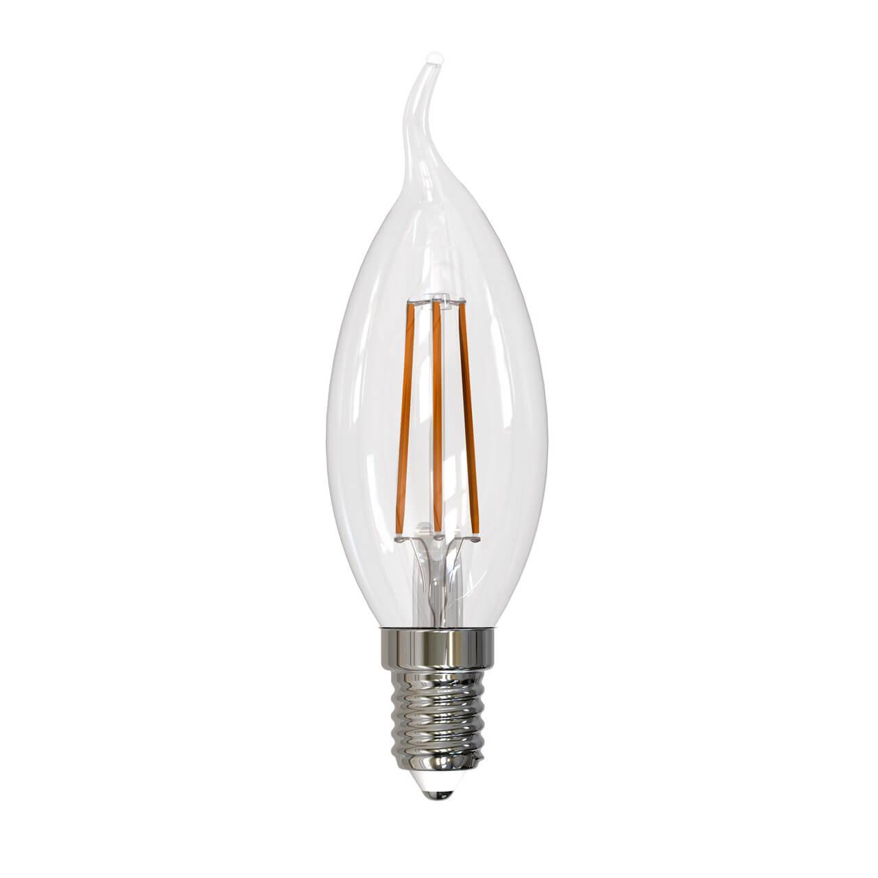 Лампочка Uniel LED-CW35-11W/4000K/E14/CL PLS02WH LED-CW35 кпб cl 182