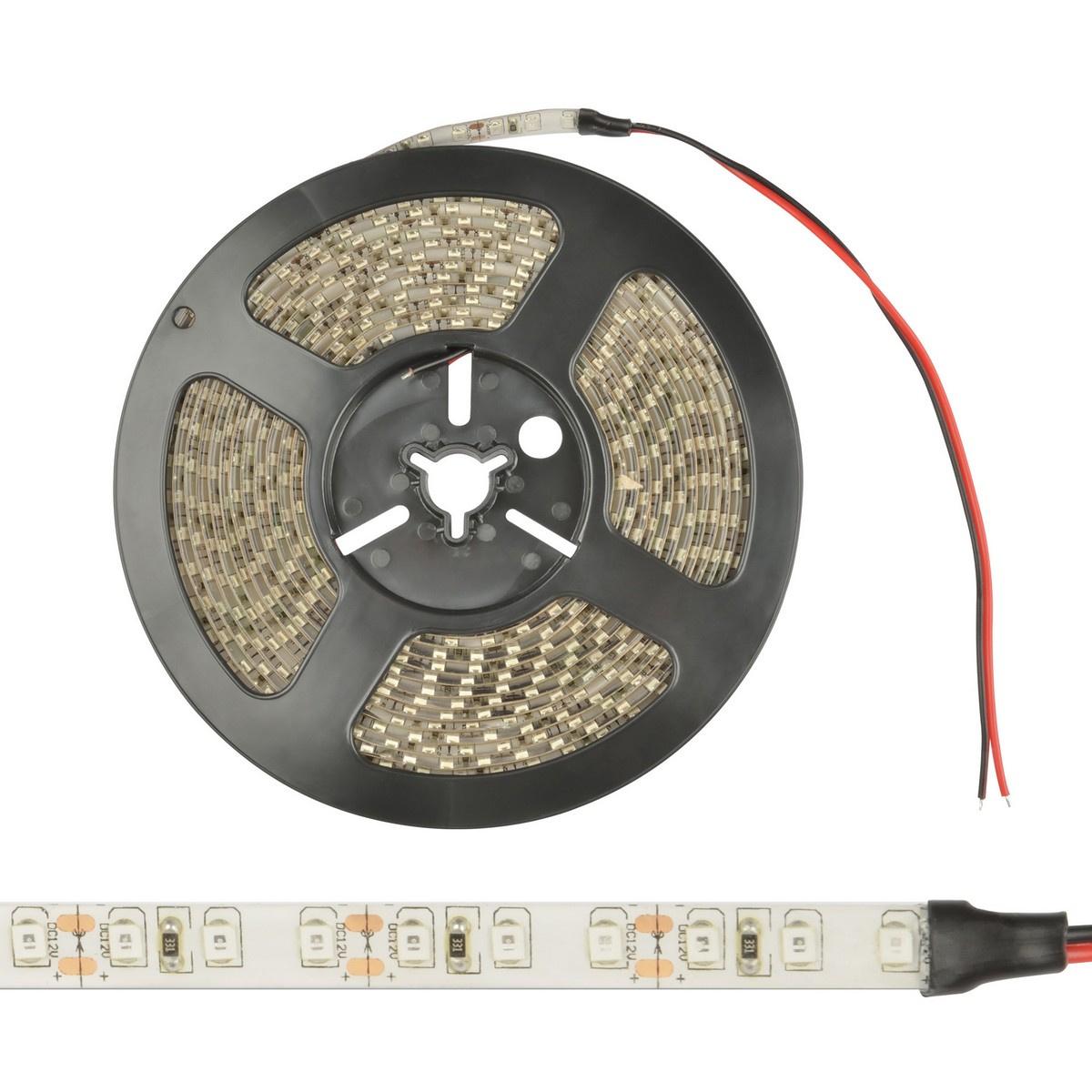 Светодиодная влагозащищенная лента Uniel (UL-00000894) 9,6W/m 120LED/m 2835SMD теплый белый 5M ULS-2835-120LED/m-8mm-IP65-DC12V-9,6W/m-5M-WW лента светодиодная эра ls3528 120led ip65 ww eco 5m