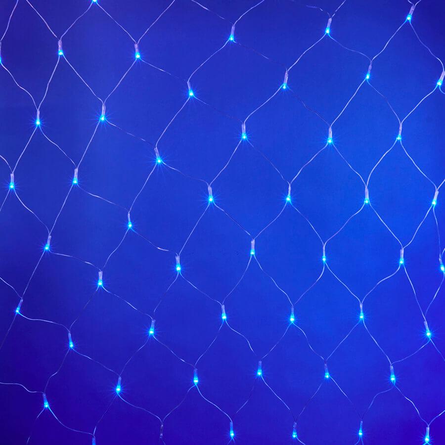 Гирлянда Uniel ULD-N2520-240/DTA BLUE IP20 Сетка