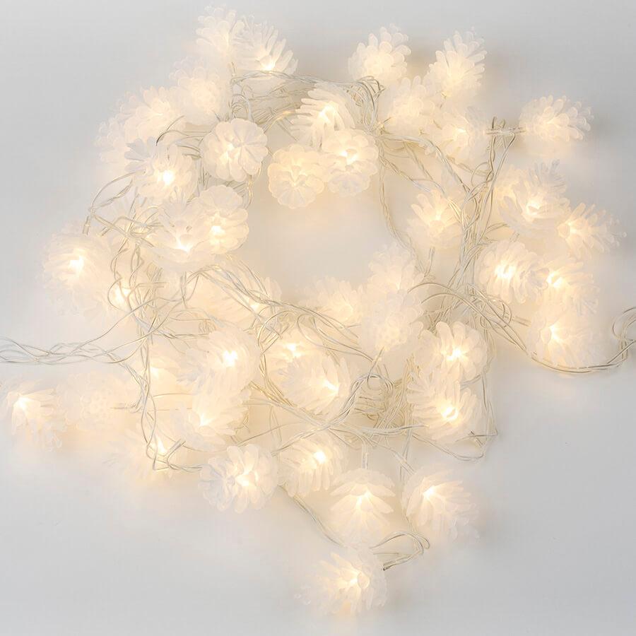 Гирлянда Uniel ULD-S0500-050/DTA Warm White IP20 Pine Cones Гирлянда