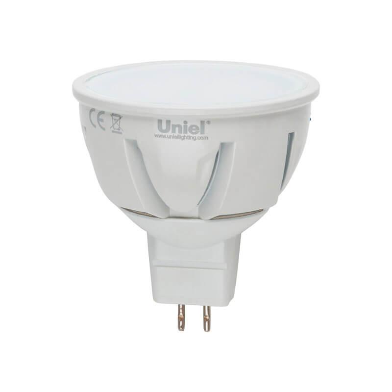 Лампа светодиодная (UL-00000696) GU5.3 5W 3000K матовая LED-JCDR-5W/WW/GU5.3/FR/DIM цены онлайн