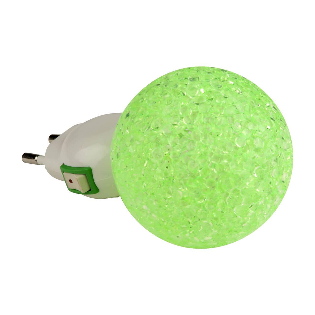 Светильник Uniel DTL-309-Шар/Green/1LED/0,1W DTL-309