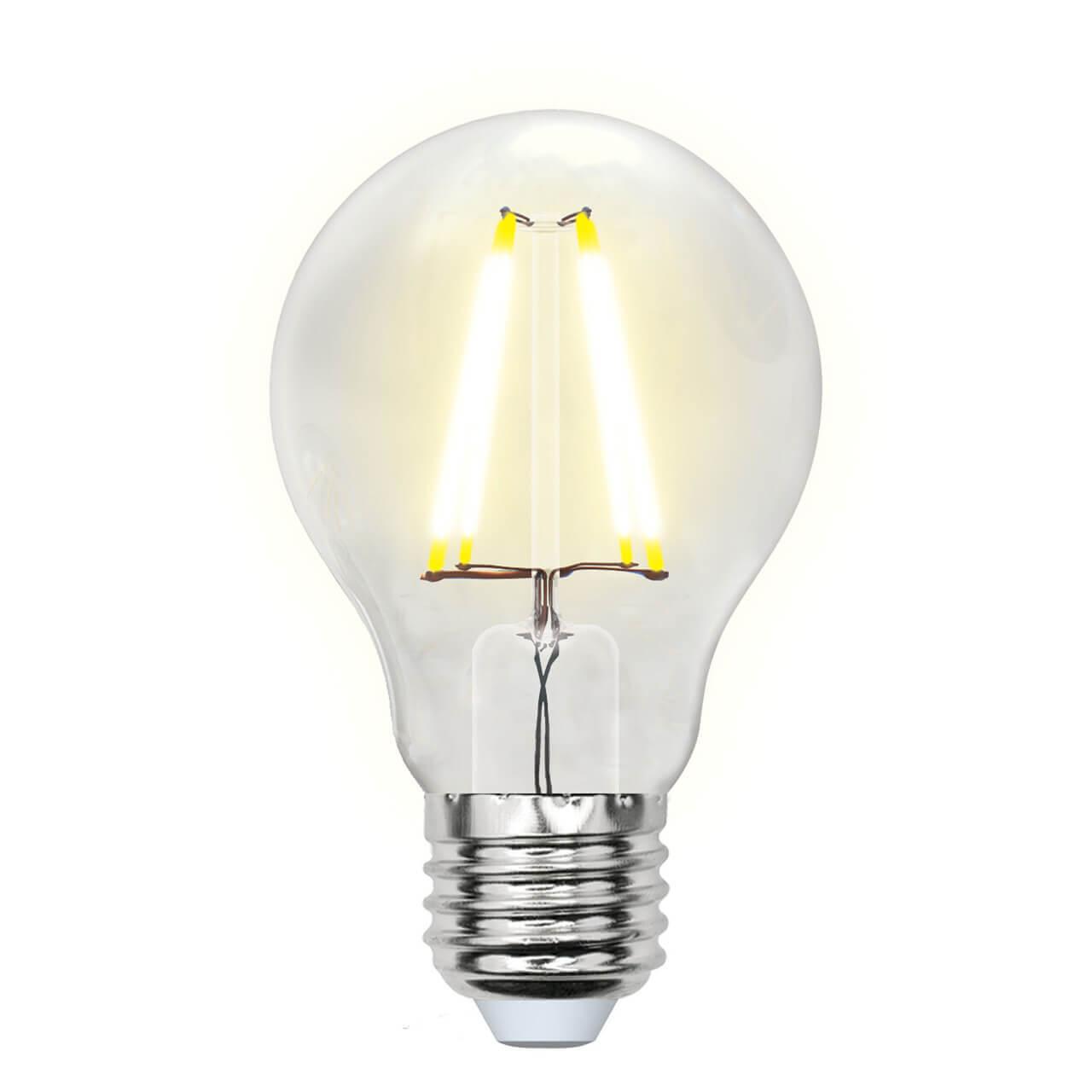Лампочка Uniel LED-A60-8W/WW/E27/CL GLA01TR AIR A лампочка uniel led a60 8w ww e27 cl sky