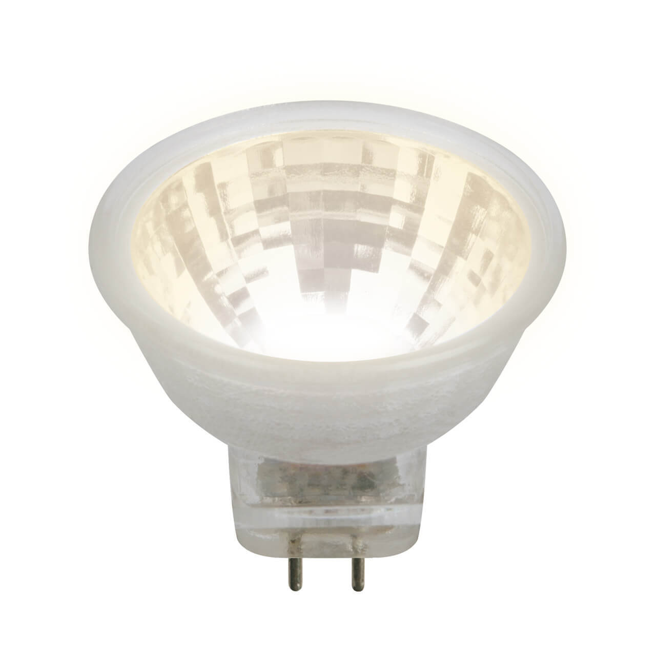 Лампочка Uniel LED-MR11-3W/WW/GU4/220V GLZ21TR LED-MR11