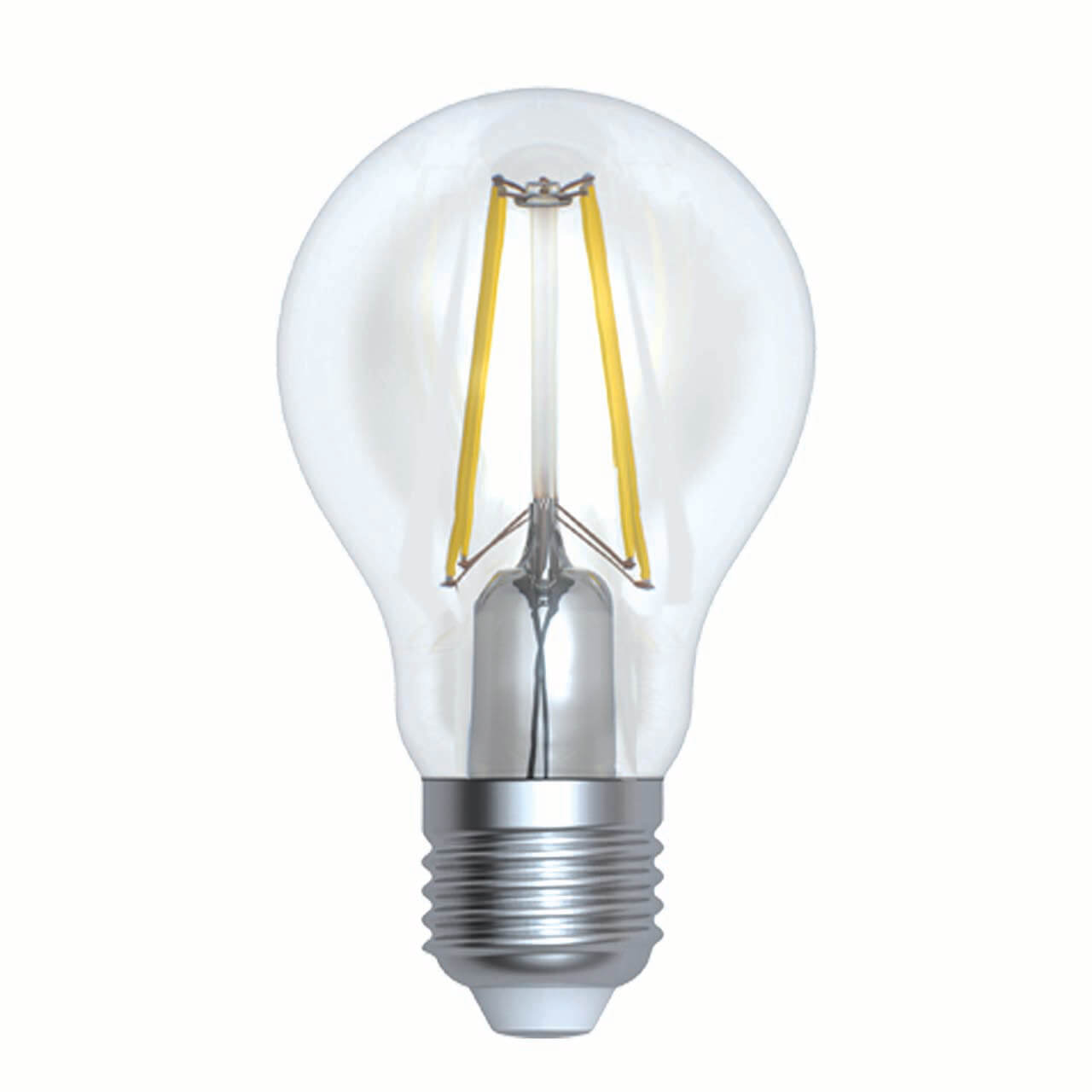 Фото - Лампочка Uniel LED-A60-15W/3000K/E27/CL PLS02WH LED-A60 лампочка uniel led a60 10w ww e27 cl pls02wh sky